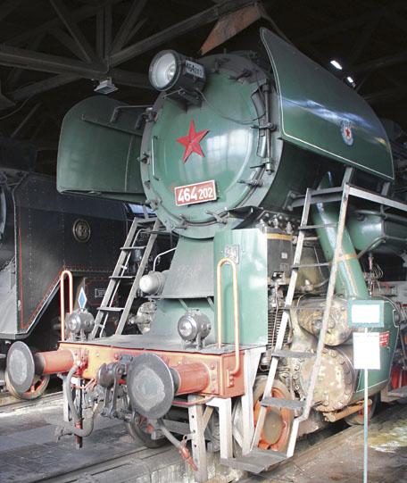 Rosnička – jeden ze dvou prototypů, poslední unás vyvíjená parní lokomotiva.