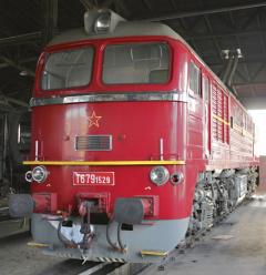 """529. """"československý"""" sergej – jeden z601 kusů dodaných ze Sovětského svazu vletech 1966 až 1979."""