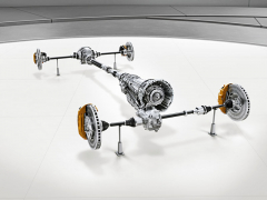 Systém pohonu všech kol má trvalý pohon zadních kol, k němuž pohon předních kol připojuje podle pokynů elektroniky lamelová spojka. K dispozici je zadní diferenciál s elektronicky řízenou svorností (pro modely 63 standard). V modelech 63 je hydrodynamický měnič převodovky nahrazen sadou elektronicky řízených lamelových spojek