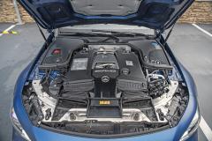 Čtyřlitrový osmiválec AMG s dvojicí turbodmychadel patří bezpochyby knejlepším motorům současnosti