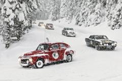 V sobotu se konaly tři výjezdy na horu Planai. Cesta byla doslova zasypávána sněhem