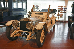 Franz Pidwel, žijící v Santiago Cacém, dovezl v listopadu 1911 šasi tohoto Rolls-Royce Silver Ghost (1911) do Portugalska, kde zhotovili jeho karosérii