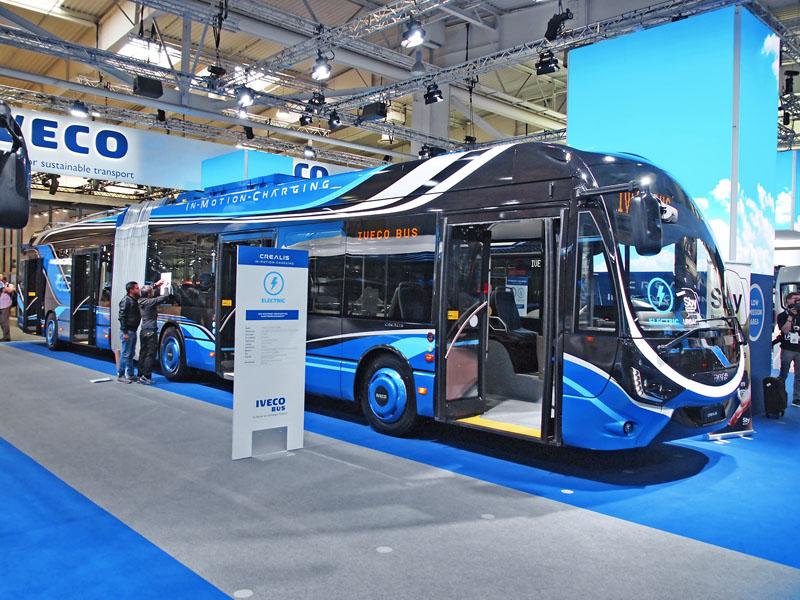 Naveletrhu IAA vHannoveru byl představen další ekologický autobus Iveco tentokrát naelektrický pohon
