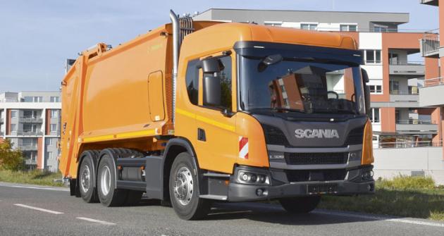 Novinkou načeském trhu je Scania L320 B 6x2/4 snejnižší kabinou  řady L určenou pro městský  provoz.