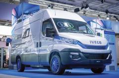 Pro městskou apříměstskou přepravu zboží vystavovalo Iveco různé modely vozidla Daily Natural Power, které jsou také součástí rodiny Daily Blue Power.