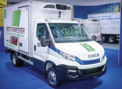 Daily Hi-Matic Natural Power je první lehké užitkové vozidlo nastlačený zemní plyn střílitrovým motorem naCNG aosmistupňovou automatickou převodovkou.