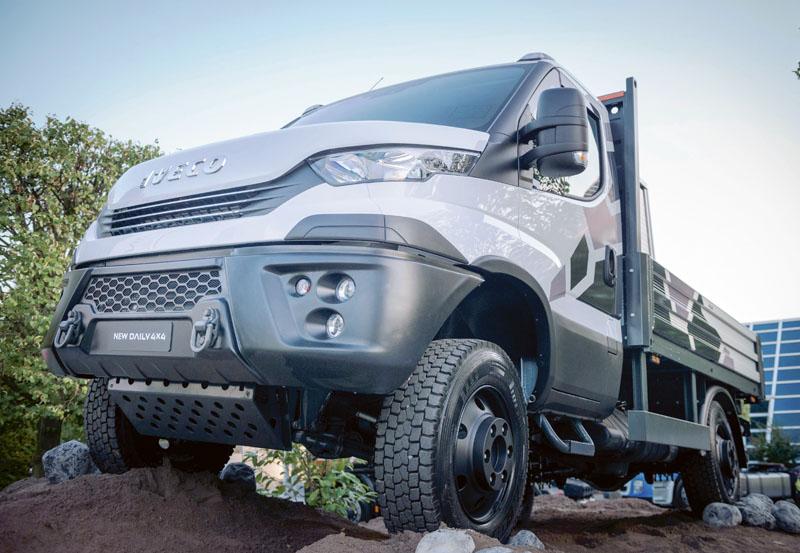 Také plněpohonná varianta dodávkového vozidla Iveco Daily plně zapadá do strategie vyloučení dieselového pohonu.