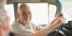 Možné limity vyplývající z vyššího věku jsou u řidičů seniorů vyváženy většinou dlouhodobými zkušenostmi.