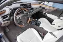 Pro nápaditě řešenou palubní desku jsou typické vysoká kvalita použitých materiálů a důraz na kvalitu zpracování. Interiér testovaného vozu s vícebarevnou kombinací doplňovalo bambusové dřevo