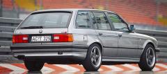 Úpravy BMW S3 na základě řady 3 (E30) jsou určeny nejen pro sedany a kabriolety, ale také pro kombi Touring