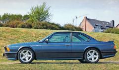 AC Schnitzer S6, úprava BMW 635 CSi (E24) se šestiválcem 3,4 l o výkonu 180 kW (245k), odvozeným ze závodního kupé Roberta Ravaglii (mistr Evropy 1986)