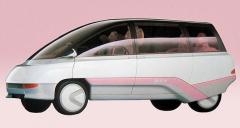 Originální mini MPV Subaru BLT mělo premiéru v roce 1987 na autosalonu v Tokiu