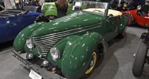 I takto vypadá Citroën; Traction Avant 11 BL (1939) se speciální karosérií karosárny Clabot