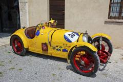 B.N.C. 527 Monza (1927) se čtyřválcem 1172 cm3 naMille Miglia 2018