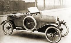 Kevah (1921) s motorem Chapuis-Dornier s karburátorem Solex atřístupňovou převodovkou