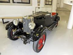 MG 18/80 Mk.I Speed Model ročníku 1931 v muzeu vGaydonu