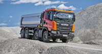 Scania G 450 XT jednostranný sklápěč