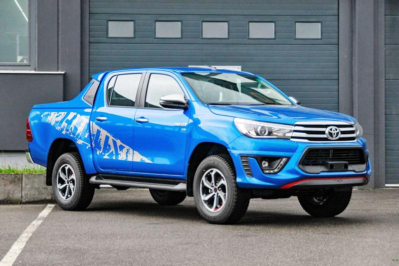 Toyota Hilux TRD 4.0 V6 Euro 6 se zážehovým šestiválcem