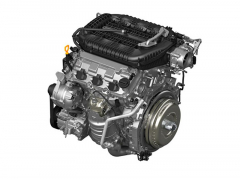 V6 3,5 litru si vystačí s dvojicí vačkových hřídelů. Má však proměnné časování, přímé vstřikování i odpojování válců