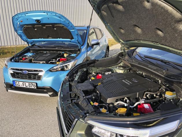 Mild-hybridní hnací soustavy e-Boxer vstoupí do Evropy vnové generaci Subaru Forester avtypu XV