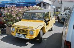 Citroën Méhari (celkem 144 953 vozů do roku 1987), vzpomínka na zlatá léta šedesátá (uveden 1968)
