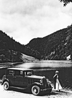 Citroën 8 Rosalie, klasický typ s pohonem zadních kol (1932)