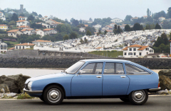 Citroën GS získal evropský titul Car of the Year pro rok 1971