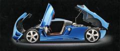 Jubilejní Rascasse s motorem BMW 5,4 l V12 uprostřed (benzín nebo LPG)