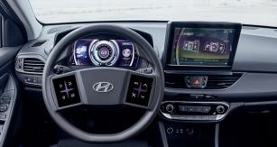 Virtuální přístrojová deska Hyundai