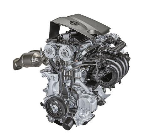 Základem nové hybridní hnací soustavy je nově vyvinutý čtyřválec 2,0 l spřímým vstřikováním benzínu