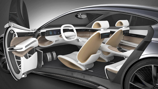 Progresivní prototyp Le Fil Rouge ukazuje, že značka Hyundai má ve věci designu zítřka jasno