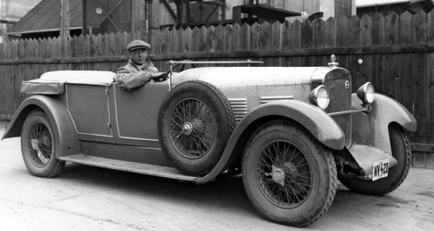 Walter 6 B, s nímž jel Jindřich Knapp v dubnu 1929 závod Zbraslav-Jíloviště