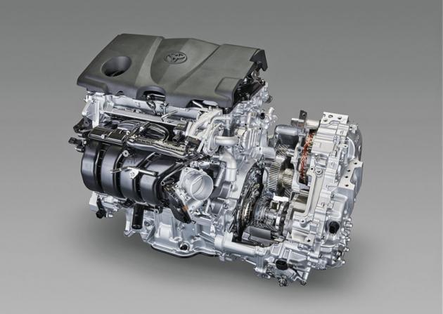 Nově uspořádaný hybridní systém se již dříve představil v typech RAV4 nebo Lexus ES 300h