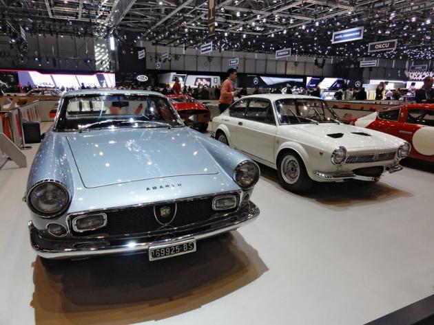 Fiat Abarth 2400 Coupé Allemano (1965) a 850 OT 2000 Coupé America (1966)