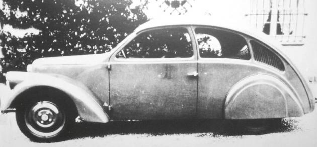 Zündapp Typ 12 měl všechny aerodynamické přednosti ktomu, aby se vroce svého vzniku stal opravdu zajímavým výrobkem.