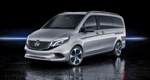 Elektrický automobil Mercedes-Benz MPV