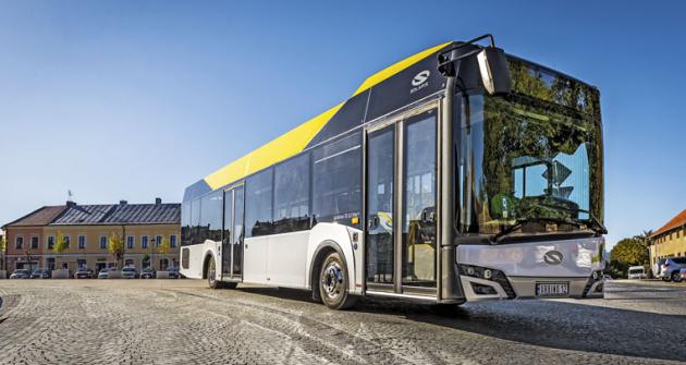 Autobus Solaris Urbino 12 LE hybrid lite