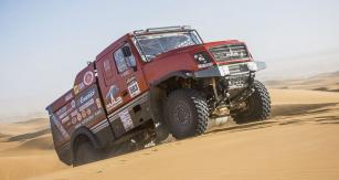 """Loňské druhé místo vkonečné klasifikaci kategorie """"kamiony"""" vRallye Dakar nemusí být díky novému speciálu pro běloruský tým naRallye Dakar 2020 nepřekonatelné."""