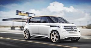 Volkswagen Budd-e (2016). První na MEB