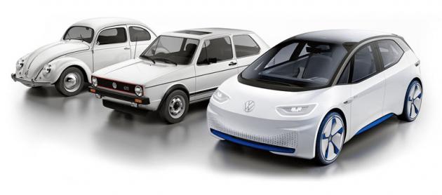 Model ID.3 má být začátkem třetí éry koncernu Volkswagen. První byl slavný Brouk (1938), jenž byl dlouho hlavním modelem značky. Jeho otěže převzal v roce 1974 Golf, jenž je nepustil do dnešních dnů. Od příštího roku se budou Golfi ID.3 vyrábět současně