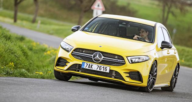 Mercedes-AMG A 35 4matic – nový základ
