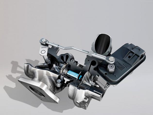 Jednou z novinek motoru Mégane R.S. Trophy je hřídel turbíny uložený v ložiscích s keramickými kuličkami