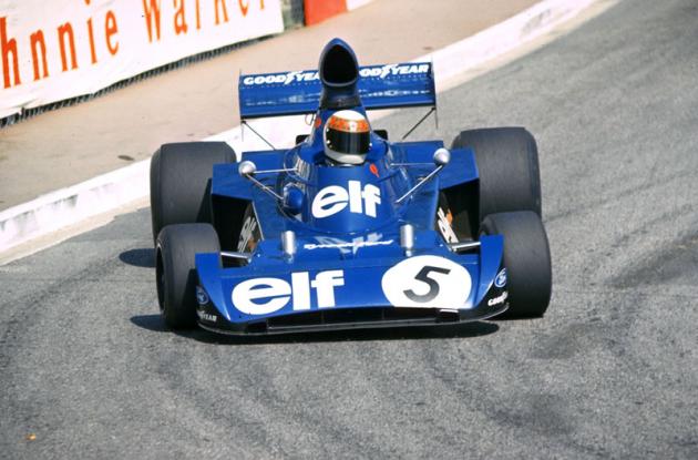 Trojnásobný mistr světa Jackie Stewart (Tyrrell-Ford; naposledy 1973)