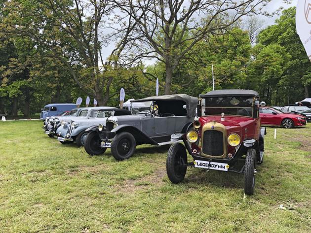 Citroën slavil stoleté výročí. K vidění byl například první Type A a další zásadní modely značky
