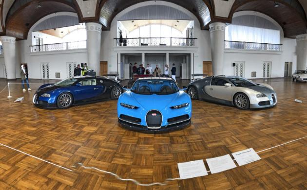 Bugatti Chiron českého majitele bylo jednou z hlavních atrakcí letošních Legend