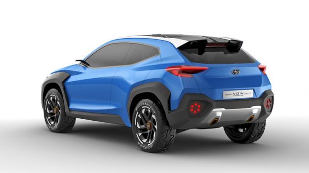 Subaru Viziv Adrenaline Concept (2019)