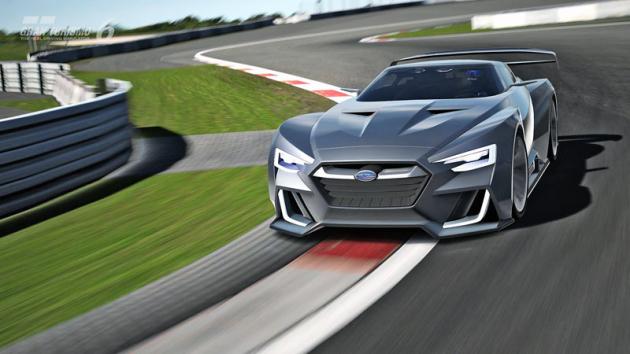 Subaru Viziv GT Vision Gran Turismo (2014) byl virtuálním vozem pro počítačovou hru