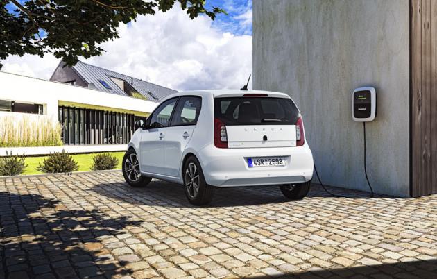 """Nově založená značka Škoda iV má sloužit nejen automobilům samotným, ale rovněž celému """"ekosystému"""" apotřebné infrastruktuře"""