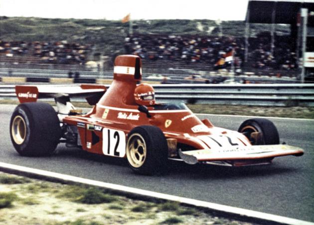 Premiéra uFerrariho v roce 1974 s dvanáctiválcem typu 312 B3