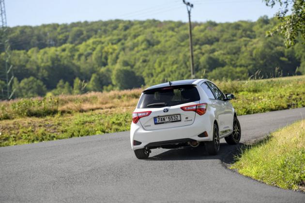 V případě Yarisu GT Sport beze zbytku platí, že podvozek je rychlejší než motor